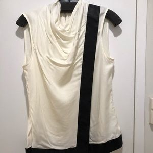 Helmut Lang Sleeveless Asymmetric Top